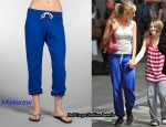 In Sienna Miller's Closet - Monrow Vintage Sweats