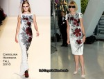 CFDA Fashion Awards - Anna Wintour In Carolina Herrera