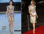"Fresh Air Fund ""Salute To American Heroes"" - Anna Wintour In Erdem"