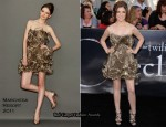 Twilight Saga: Eclipse LA Premiere - Anna Kendrick & Nikki Reed In Marchesa