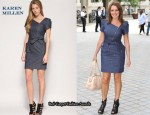 In Carol Vorderman's Closet - Karen Millen Denim Zip Dress
