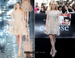 Twilight Saga: Eclipse LA Premiere - Dakota Fanning In Elie Saab Couture