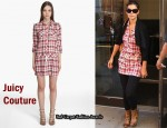 In Katie Holmes' Closet - Juicy Couture Open Road Dress
