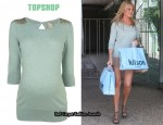 In Stephanie Pratt's Closet - Topshop Maternity Stud Jumper