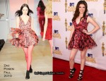 2010 MTV Movie Awards - Anna Kendrick In Zac Posen