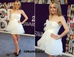 2010 CFDA Fashion Awards - Dakota Fanning In Marchesa