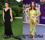 Best Dressed Of The Week - Aishwarya Rai In Elie Saab & Jessica Biel In Diane von Furstenberg