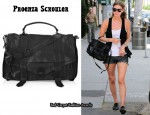 In Nicky Hilton's Closet - Proenza Schouler PS1 Satchel