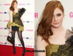 2010 Glamour Women Of The Year Awards - Karen Gillan In Kate Halfpenny