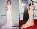 2010 Tony Awards - Lucy Liu In Marchesa