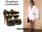 In Emmannuelle Chriqui's Closet - Christian Louboutin 'Madame Butterfly' Booties