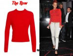 In Rihanna's Closet - The Row 'Tilbury' Turtle Neck Sweater