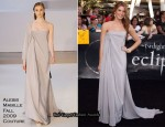 Twilight Saga: Eclipse LA Premiere - Ashley Greene In Alexis Mabille Couture