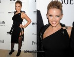 2010 amfAR New York Inspiration Gala - Kylie Minogue & Estelle In Jean Paul Gaultier
