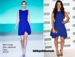 Pre-Wimbledon Party - Jessica Lowndes In Matthew Williamson