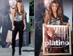 """Can't Be Tamed"" Madrid Album Presentation - Miley Cyrus In Proenza Schouler & Saloni"