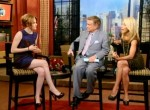 "Kristen Stewart Promotes ""Twilight"" On The ""Today Show"" & ""Live With Regis & Kelly"""