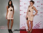 In Shantel VanSanten's Closet - Rebecca Minkoff Pink Dress