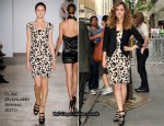 Runway To The Today Show - Rose Byrne In Elise Øverland