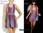 In Cheryl Cole's Closet - Steven Alan Cruiser Mini Dress