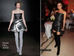 Diane Von Furstenberg And Claridge's Launch Party - Victoria Beckham In Giles