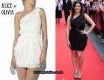 In America Ferrera's Closet - Alice + Olivia Tessa Asymmetrical Dress