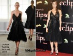 """The Twilight Saga : Eclipse"" Madrid Premiere & Photocall - Ashley Greene In Donna Karan & Michael Kors"