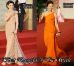 Best Dressed Of The Week - Barbie Hsu In Elie Saab Couture & Michelle Yeoh In Atelier Versace