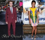 Best Dressed Of The Week - Robert Pattinson In Gucci & Jamie Chung In Tibi