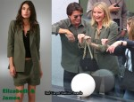 In Cameron Diaz' Closet - Elizabeth & James Green Blazer