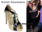 In Cheryl Cole's Closet - Rupert Sandersone Double Buckle Gladiator Sandals