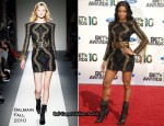 2010 BET Awards - Ciara In Balmain