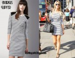 In Alex Curran's Closet -  Markus Lupfer Striped Allegra Dress