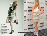2010 Scottish Fashion Awards – Diana Vickers In Flett Bertram