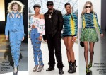 "Diddy-Dirty Money ""Last Train to Paris Album"" Launch - Dawn Richard In House Of Holland & Kaleena In Proenza Schouler"