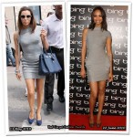 Who Wore Hervé Léger by Max Azria Better? Eva Longoria or Zoe Saldana