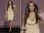 """The Tonight Show with Jay Leno"" - Ashley Greene In vintage Bill Blass"