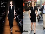 Runway To Imperial Theater - Hilary Swank In Andrew GN