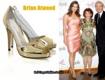 In Elizabeth Hurley's Closet - Brian Atwood Alley Patent Leather & PVC Pumps