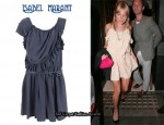In Sienna Miller's Closet - Isabel Marant Ruffle Edge Dress