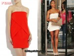 In Jada Pinkett-Smith's Closet - Fendi Strapless Peplum Dress