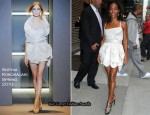 """The Late Show with David Letterman"" - Jada Pinkett-Smith In Sophia Kokosalaki"