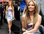 'Be Extraordinary' Billboard Unveiling - Jennifer Lopez In Emilio Pucci