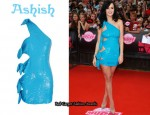 In Katy Perry's Closet - Ashish One-Shoulder Dress