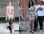 Runway To Photo Shoot - Katy Perry In Moschino