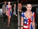 Katy Perry's USA/England Dress