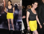 """The Twilight Saga: Eclipse"" Sydney Fan Event - Kristen Stewart In Jenni Kayne"