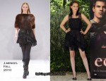 """The Twilight Saga: Eclipse"" Rome Photocall - Kristen Stewart In J.Mendel"