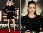 """Twilight Saga: Eclipse"" South Korea Premiere - Kristen Stewart In Prabal Gurung"