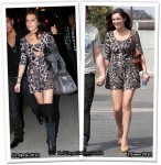 Who Wore Topshop Better? Lindsay Lohan or Kelly Brook